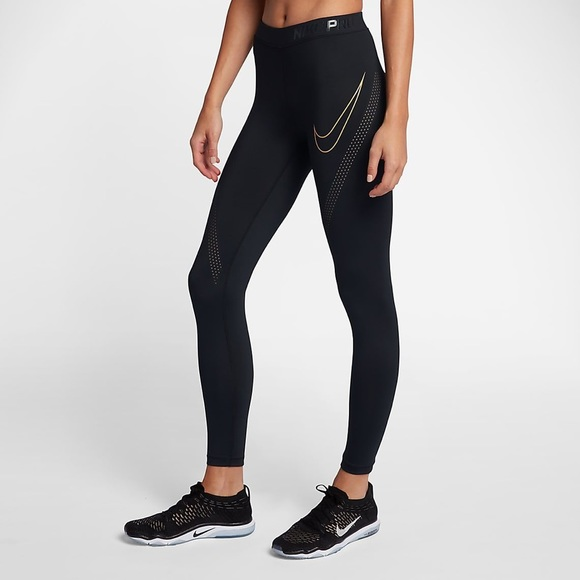 200d22e8be62c WOMENS NIKE PRO HYPERCOOL TRAINING TIGHTS #888394.  M_5bf72ebdc9bf50da124a5e09